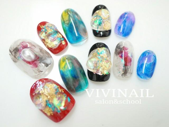 VIVI NAIL オーダーチップネイル-013