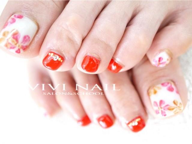 VIVI NAIL フットネイル-285