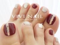 VIVI NAIL フットネイル-317