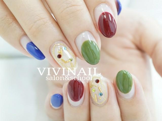 VIVI NAIL ジェルネイル-2055