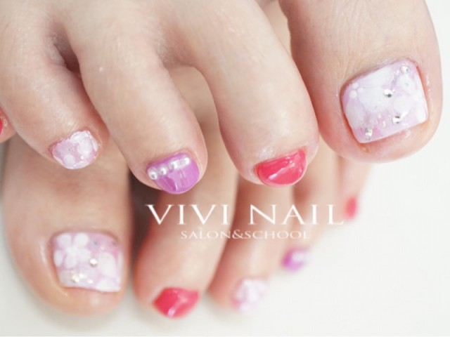 VIVI NAIL フットネイル-346